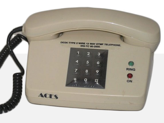 DESK TYPE 2 WIRE 12 WAY DTMF TELEPHONE - IRS: TC:80-2000
